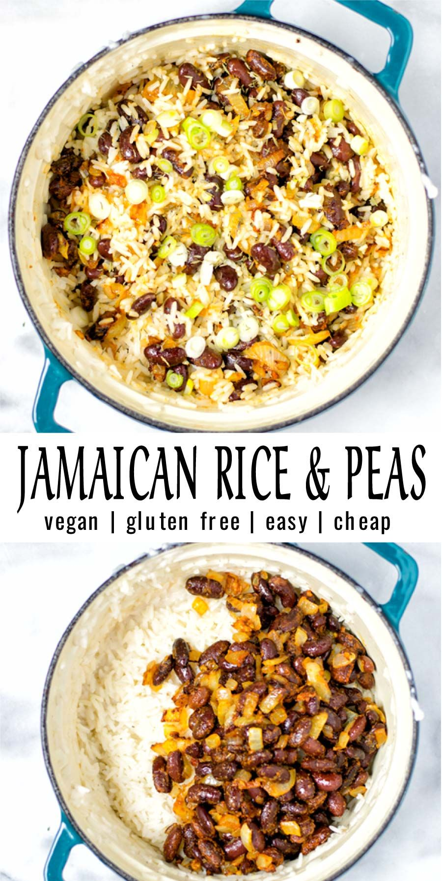 jamaican rice and peas  recipe in 2020 with images
