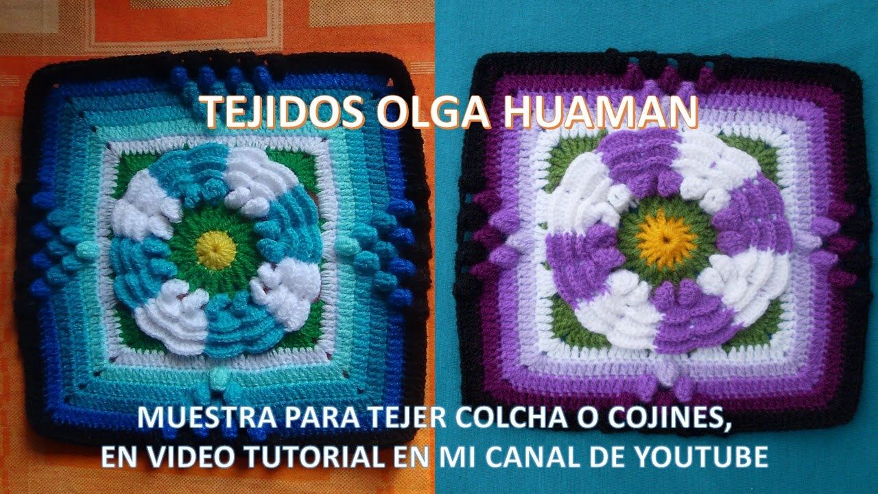 Tejidos a crochetcolchas