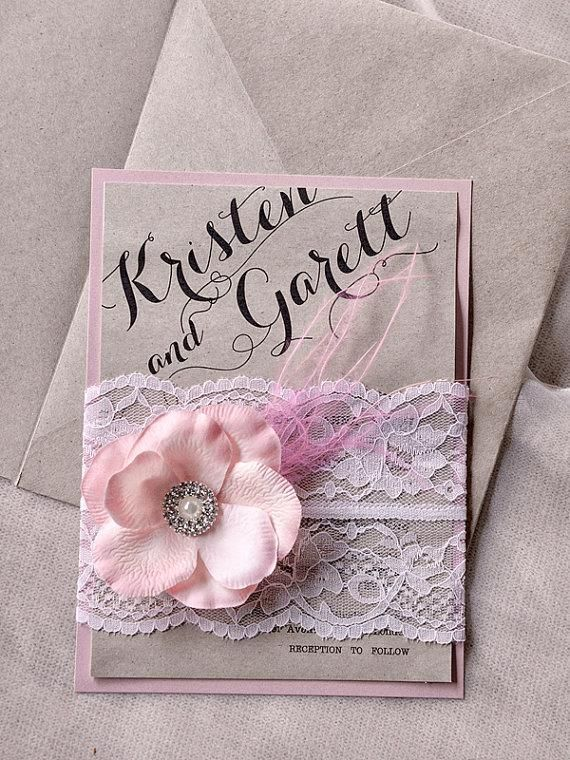 Rustic pink wedding invitations google search wedding vintage ideas for wedding invitations 8 solutioingenieria Choice Image