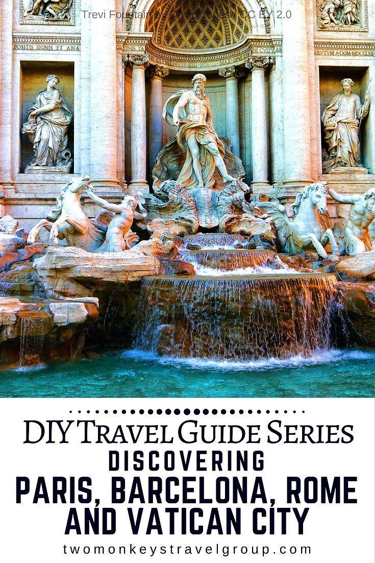 DIY Travel Guide Series: Discovering Paris, Barcelona