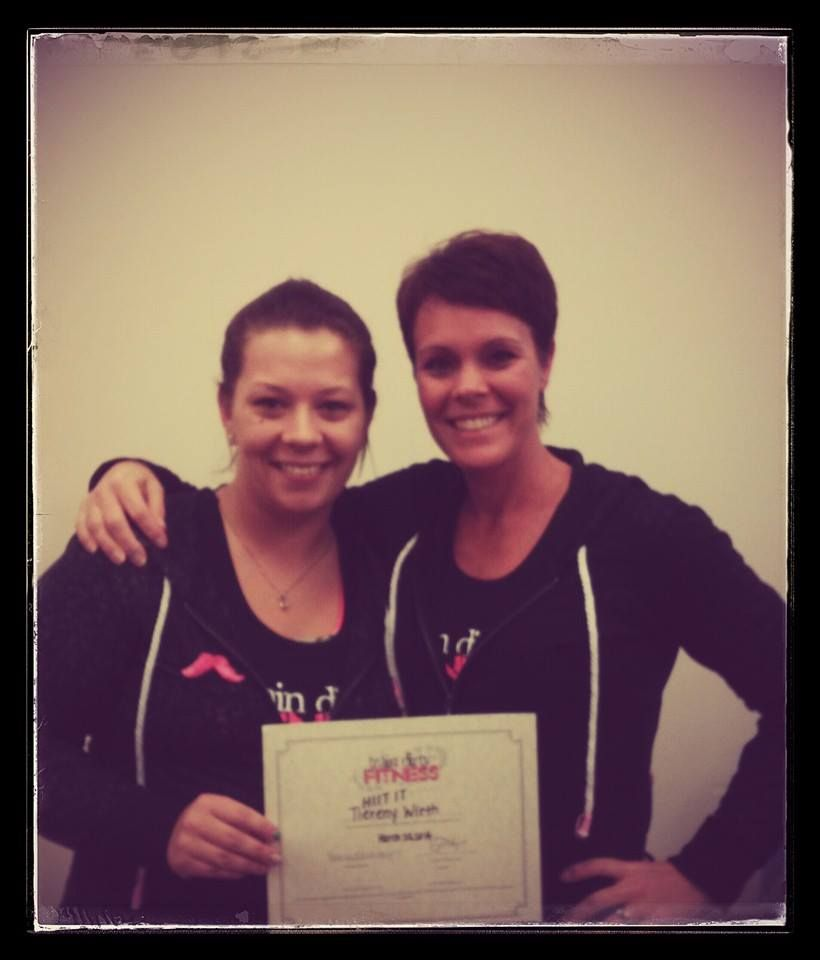 Certification Fun I Am Now A Train Dirty Fitness Hiit It