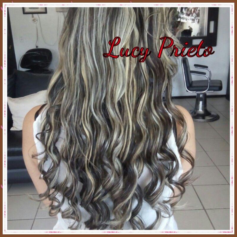 Mechas cenizas cabello pinterest mechas cabello y for Ariadne artiles reflejos