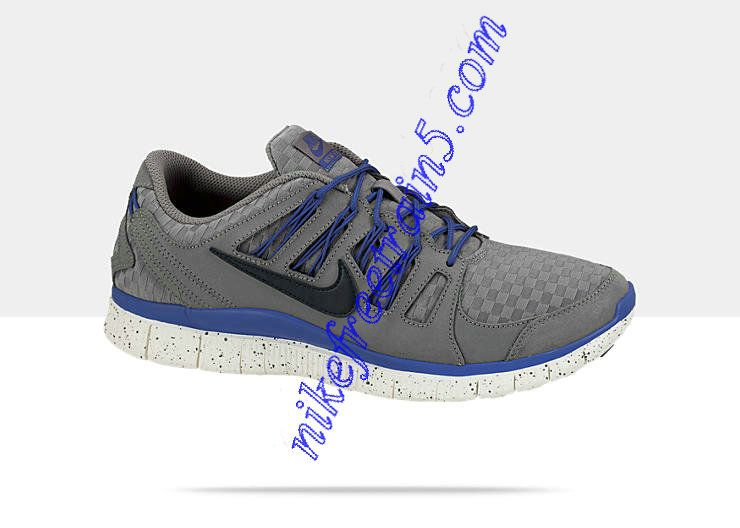 buy popular da8f6 5cd62 Nike Free 5.0 EXT Woven Cool Grey Black Sail Hyper Blue 580531 004
