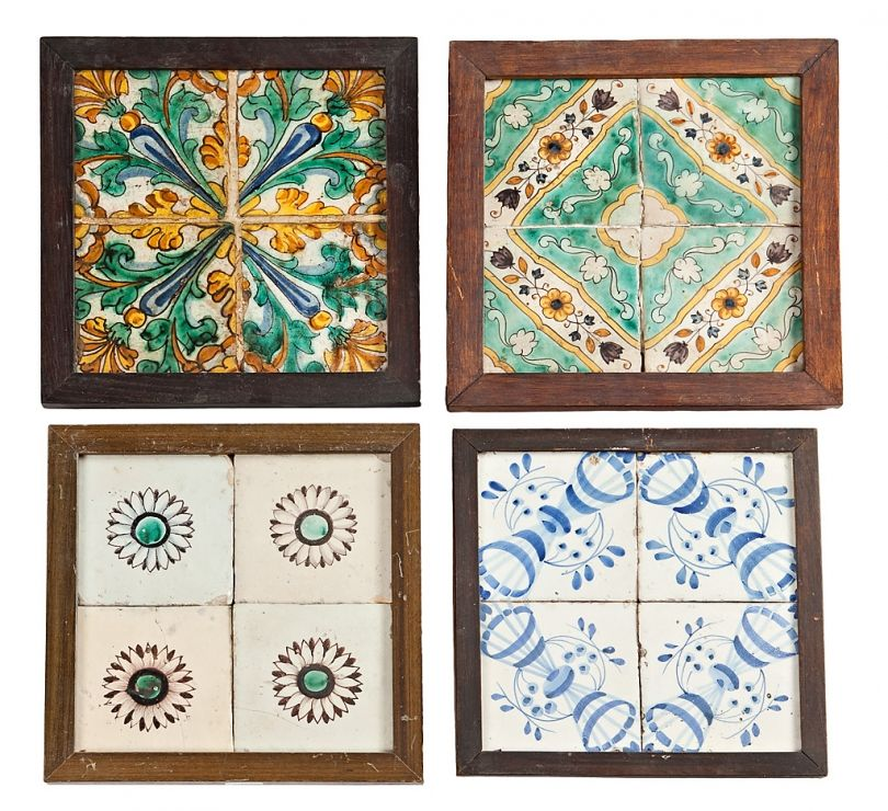 Veinticinco juegos de azulejos catalanes de muestra de for Muestras de azulejos