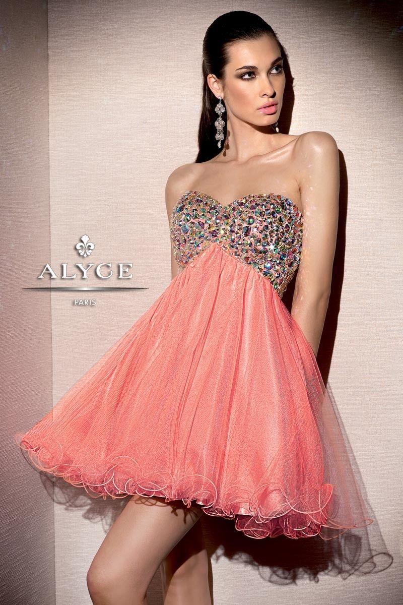 Alyce Paris | Prom Dress Style 4311 - Full shot | Pink Dresses ...