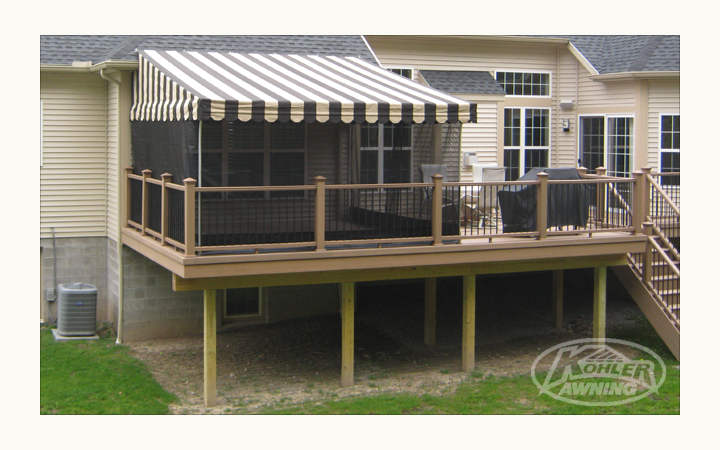 Screens For Patio Awnings By Kohler Awning Patio Awning Patio Deck Awnings