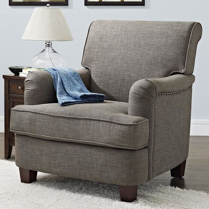 Delightful Three Posts Robertsville Rolled Top Club Chair U0026 Reviews | Wayfair