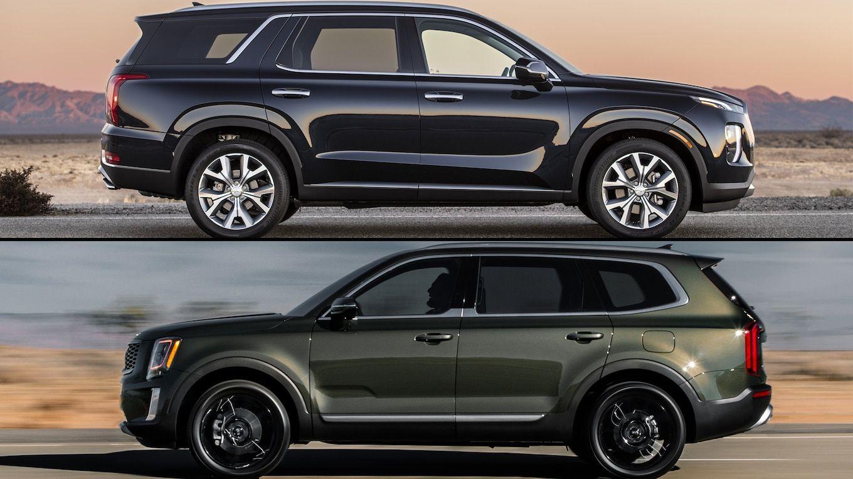 Hyundai Palisade Vs Kia Telluride A Features Comparison Kia Telluride Family Cars Suv