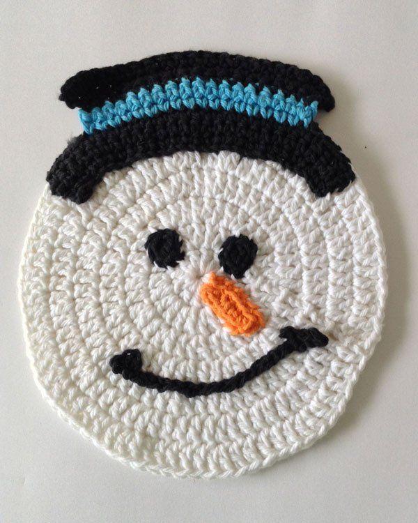 Winter Dishcloth Set Crochet Pattern