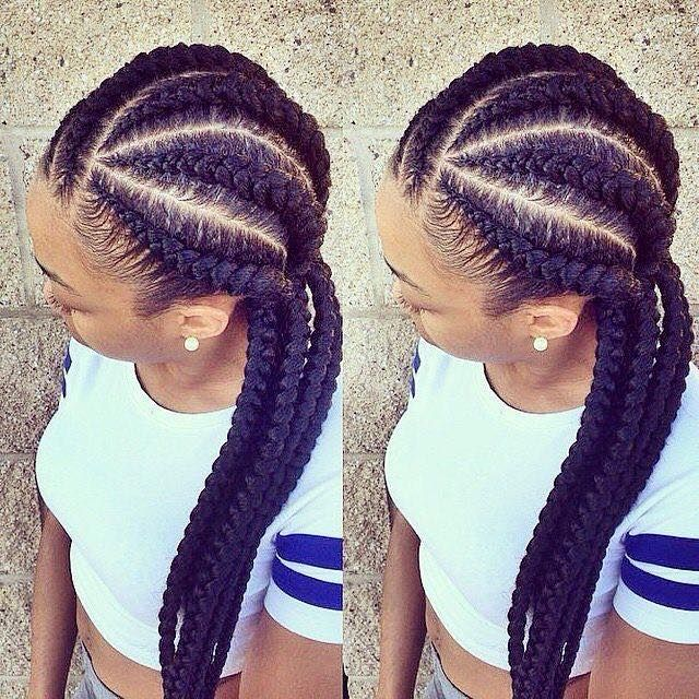 These Are Really Good Cornrows Africanhairstyle