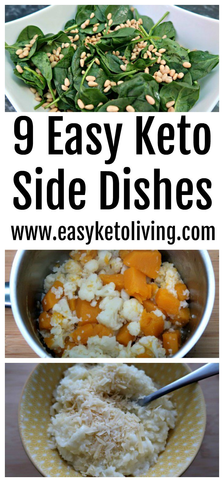 9 Easy Keto Sides Side Recipes Low Carb Side Dishes Keto Side Dishes