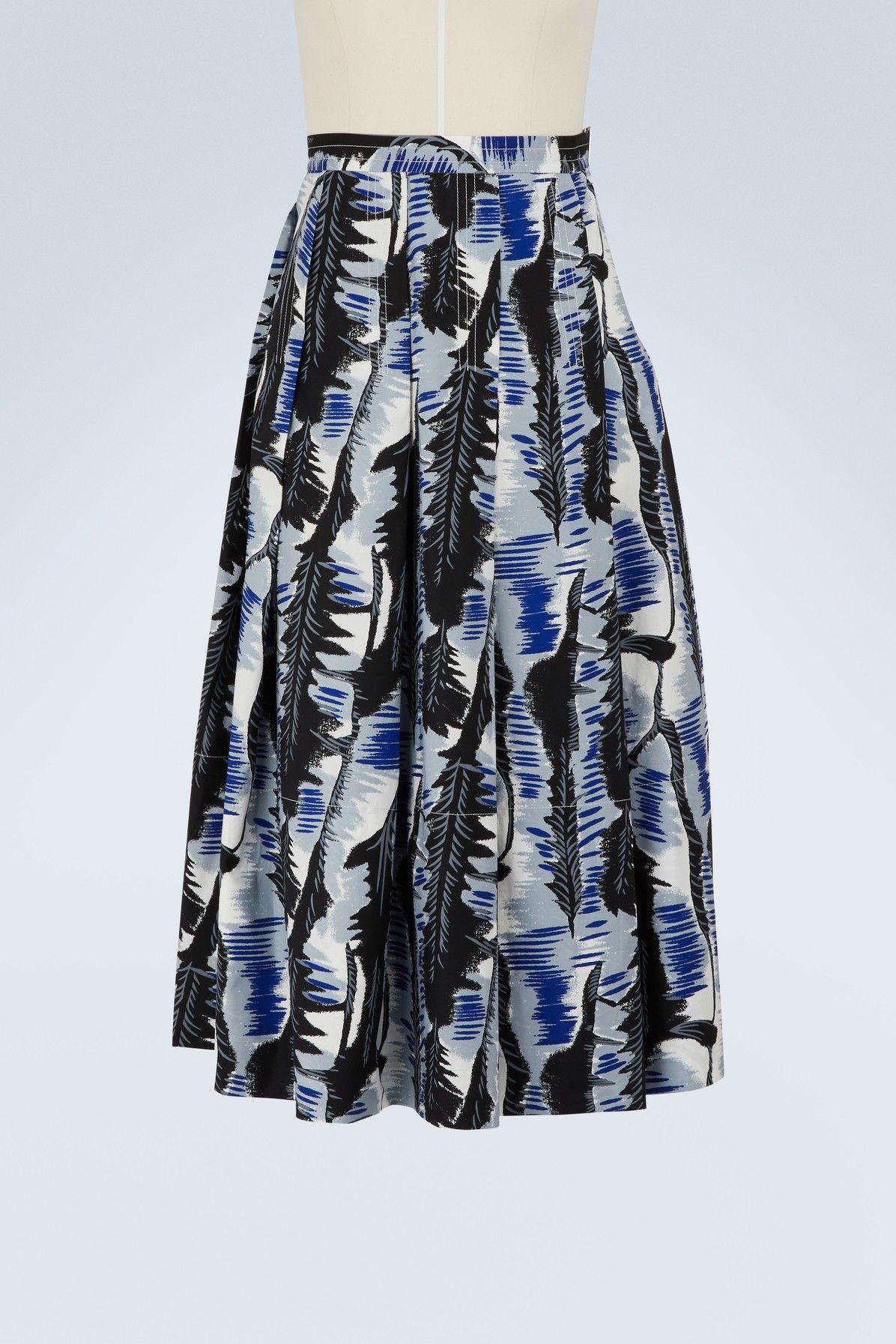 5f9a3180d1 MARNI PLEATED MIDI SKIRT. #marni #cloth # | Marni | Cotton skirt ...
