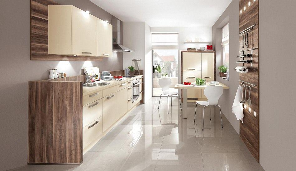 Basic-Einbauküche Norina 1351-Magnolia - Küchen Quelle Ideas for - www küchen quelle de