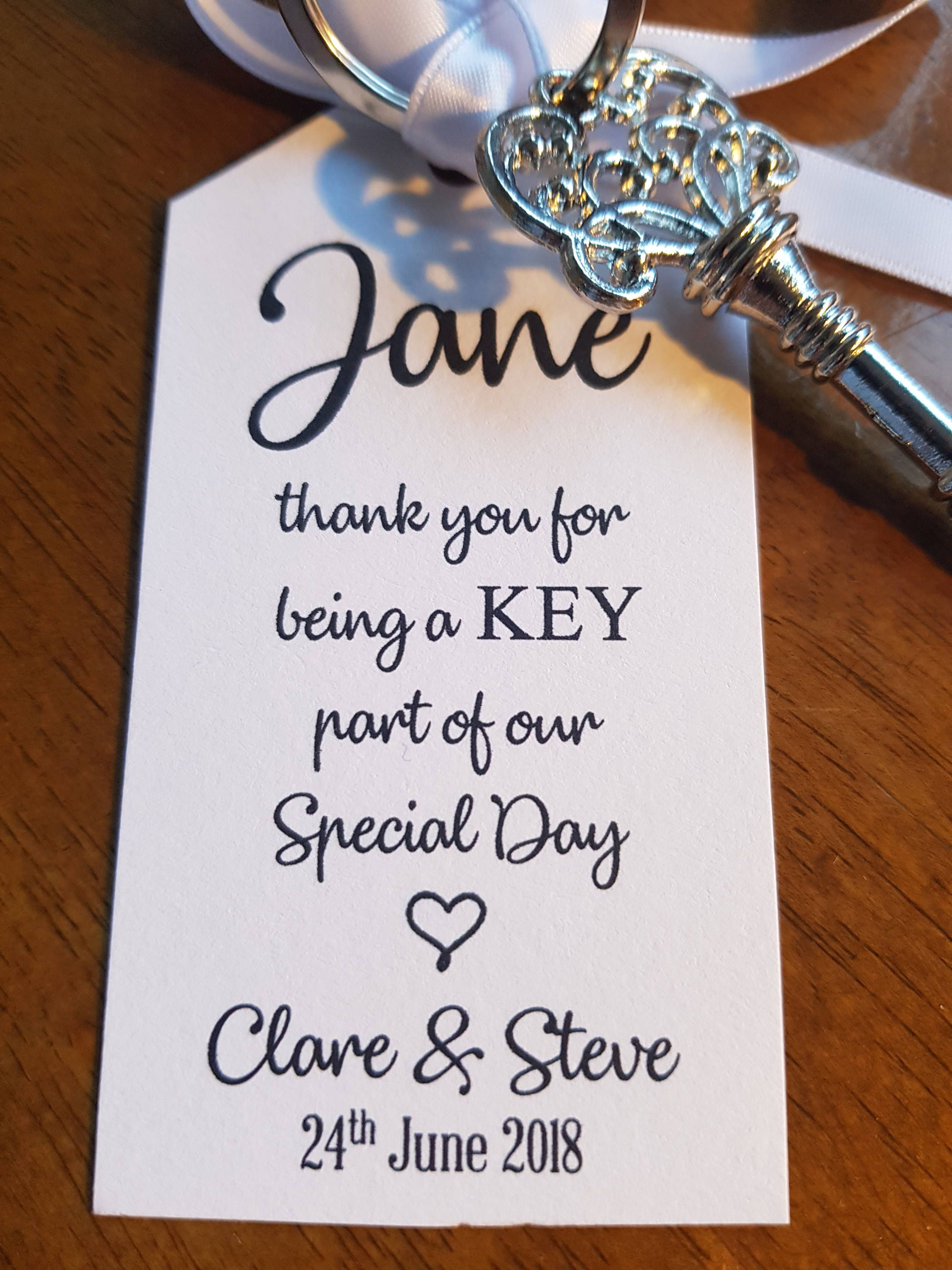 Personalised- Wedding Favour - Antique Key Bottle Opener Decor ...