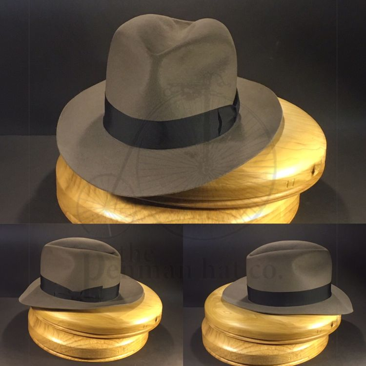 Rapping Up The Final Touches On This Indiana Jones Travel Hat From The 4th Installment Onlypenman Penmanhats Hats For Men