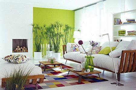design : wohnzimmer lila grün ~ inspirierende bilder von ... - Wohnzimmer Einrichten Grun