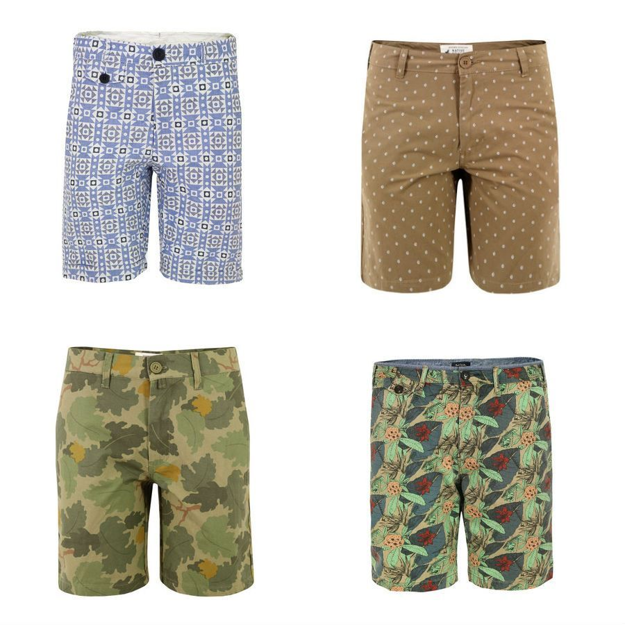 Men's Printed Shorts for Spring / Scout Sixteen ... Oliver Spencer ...