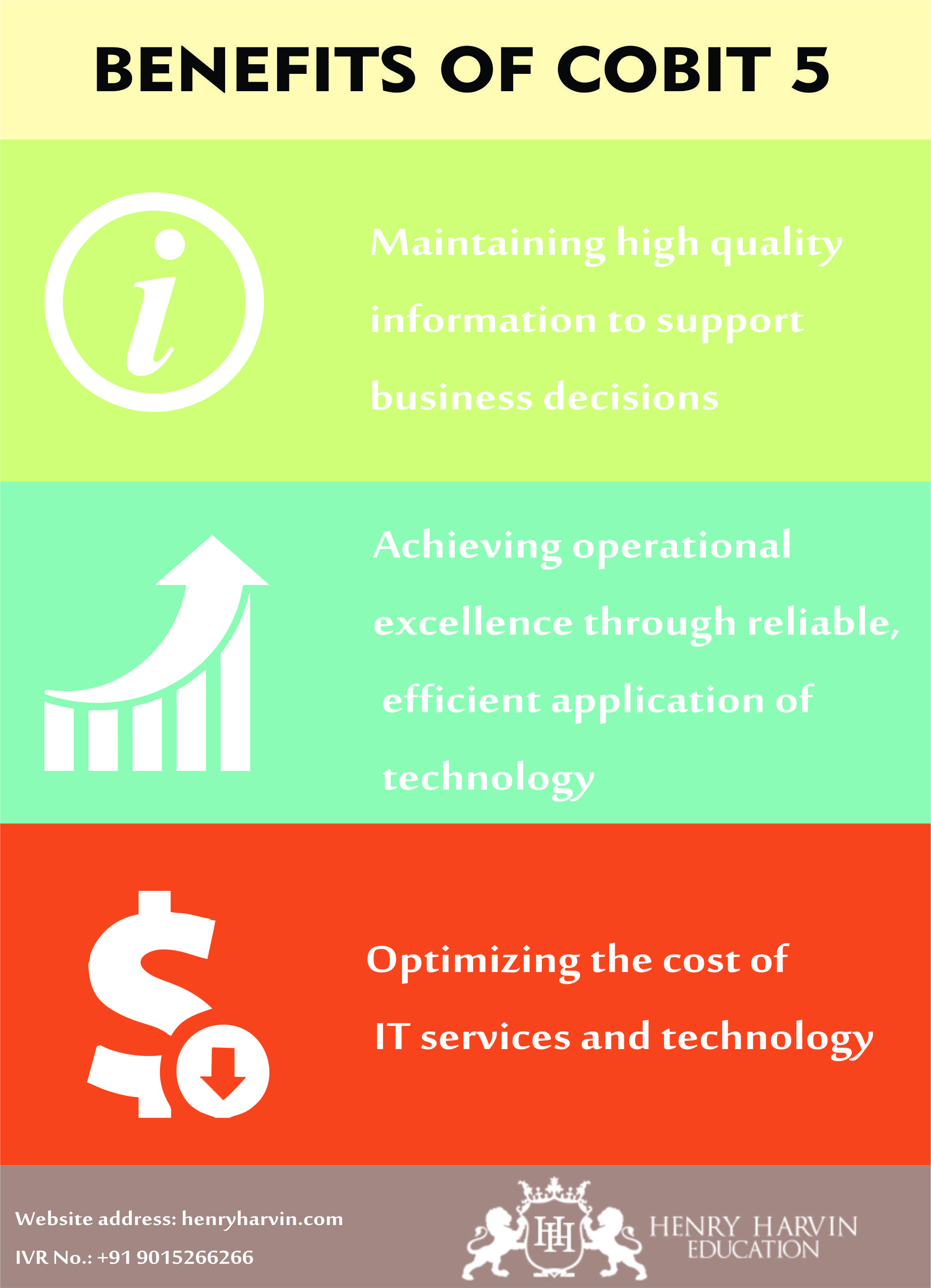 Benefits Of Cobit 5 Training Courses And Digital