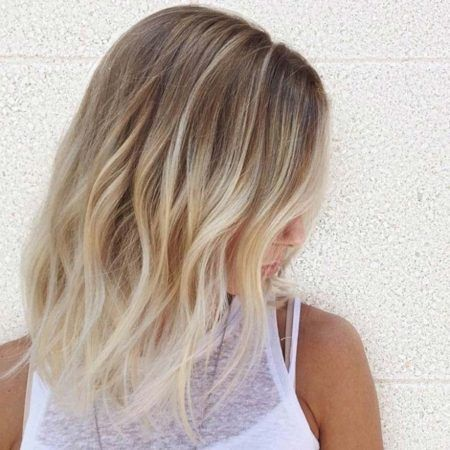 Blonde Partial Highlights Consistentwith People Who Are Lazy To Go