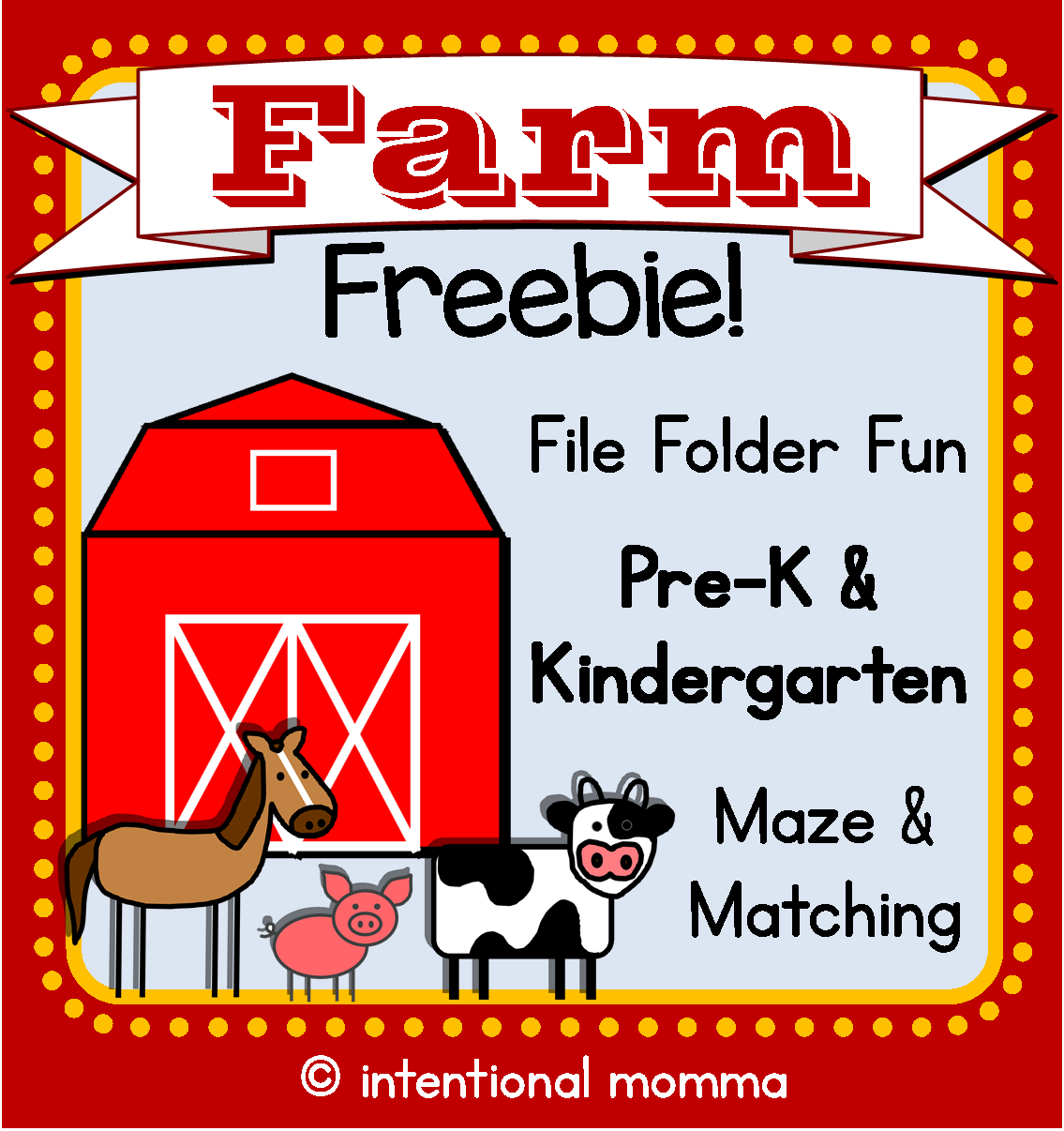 Farm Freebie Printable