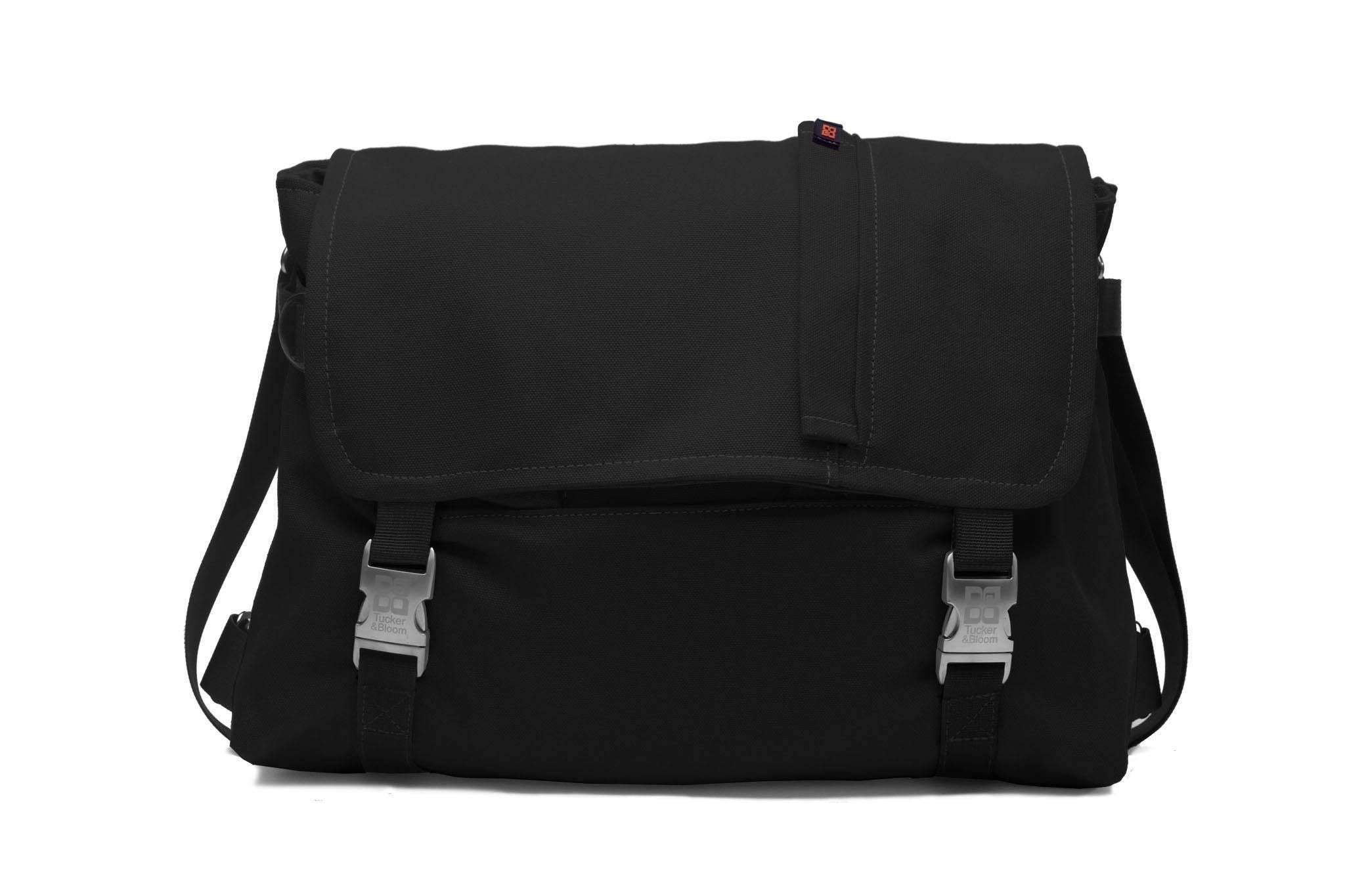 Canvas Simple Messenger Bag in various sizes and colors. Made in USA with a lifetime warranty.