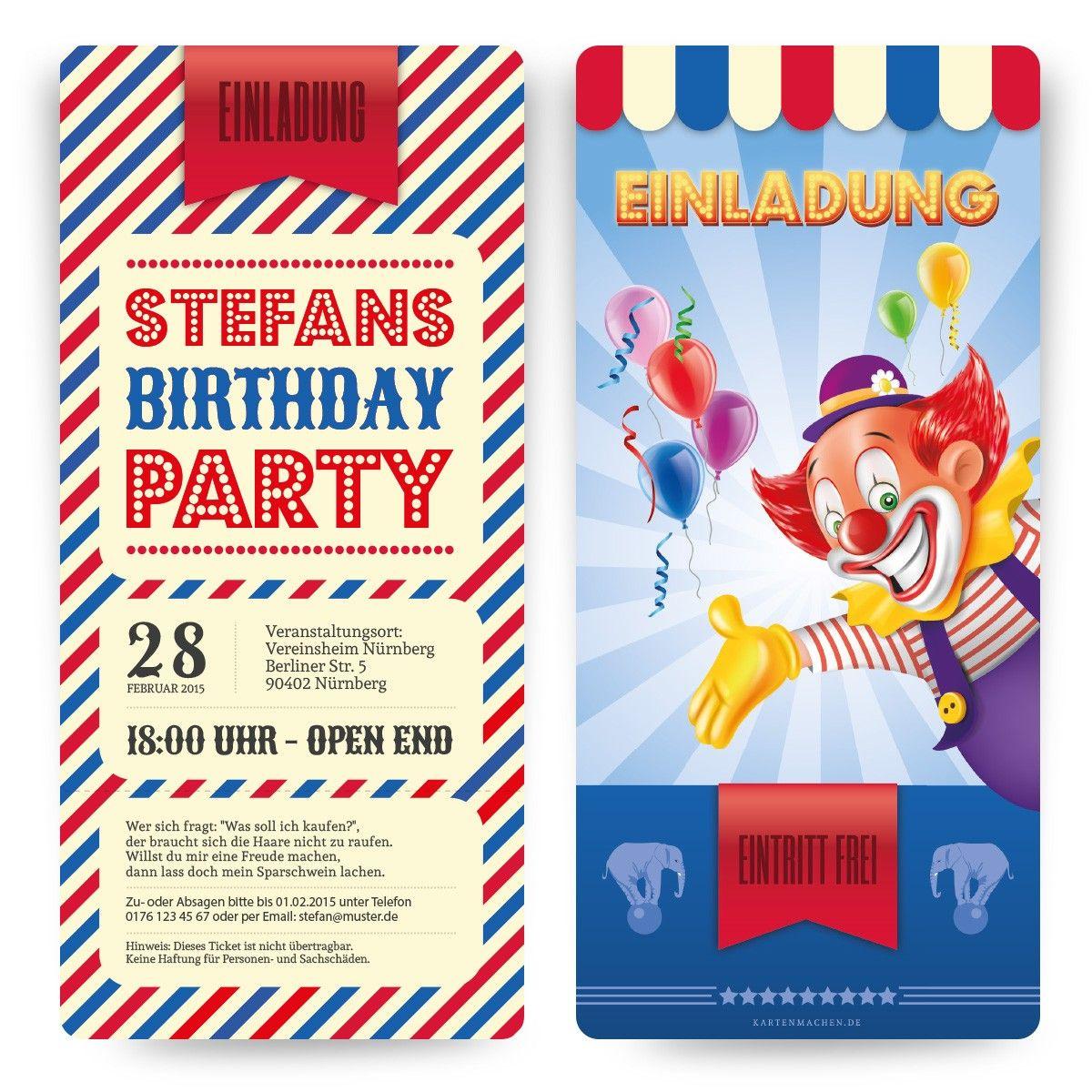 Geburtstag zirkus berlin