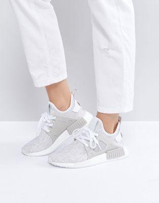 Adidas Originals Beige NMD Xr1 Primeknit Sneakers | shoes