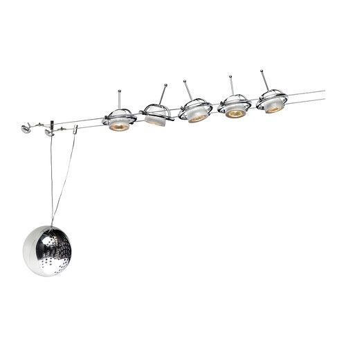 Ikea Track 5 Spot Light Low Voltage Termosfar Halogen Adjustable Saucer Zen New Ikea Ceiling Light Ikea Living Room Ceiling Lights