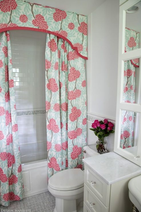 Curtains Ideas bathroom valance curtains : 1000+ images about Fabric Shower Curtains With Valance on ...