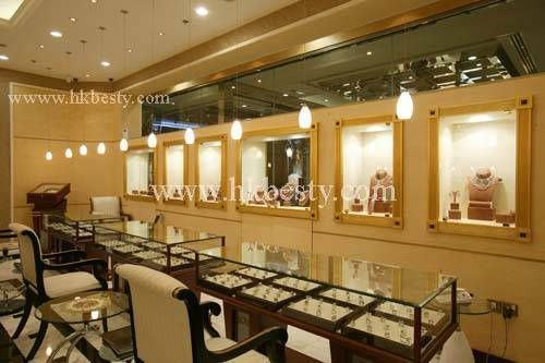 Jewellery trays fit perfectly into counters... | Jewelry Store ...