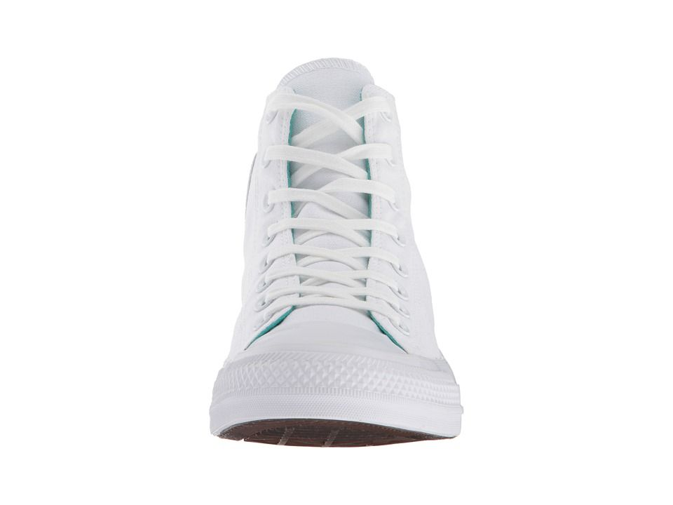 bedd5f8767ab Converse Chuck Taylor(r) All Star Tri Block Midsole Hi Classic Shoes  White Enamel Aqua Court Purple