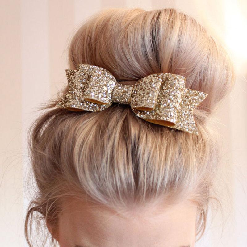 Fashion Girl Headwear Bow Hair Clips  Hair Accessories  Velvet Hairpins Bowknot