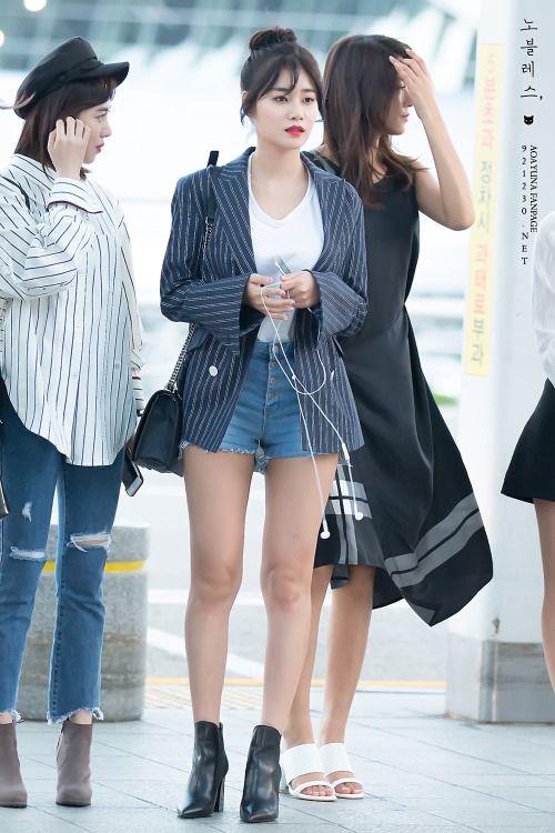 Aoa Yuna Kpop Fashion Women Kpop Outfits Fashion