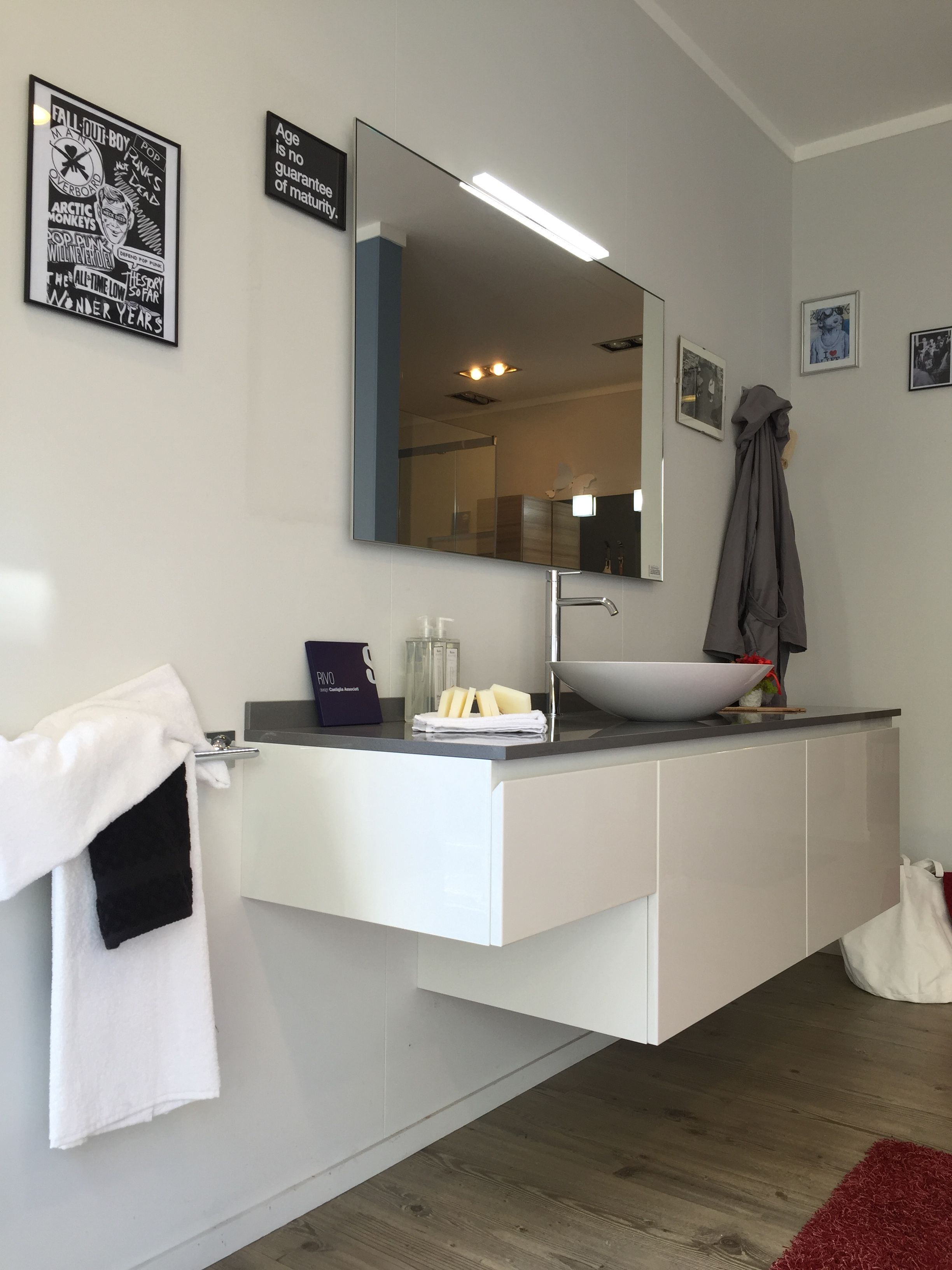 Anta Bagno ~ Bagno #scavolini modello #rivo : anta laccata lucida colore bianco