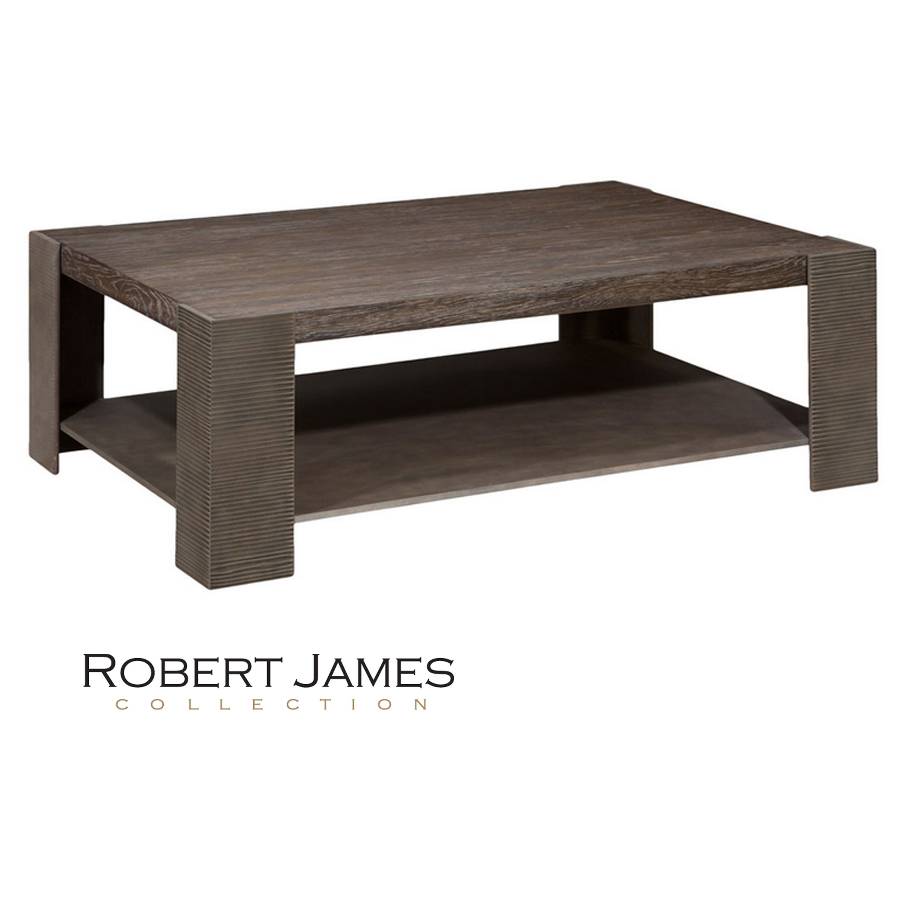 The CAYMAN COCKTAIL TABLE By The Robert James Collection - Custom size coffee table