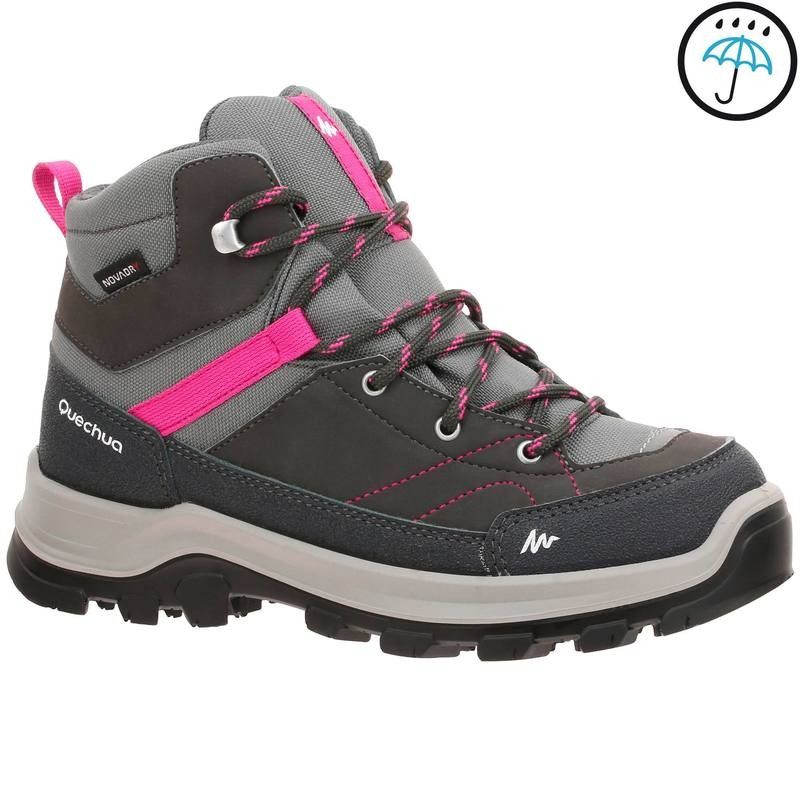Buty Turystyczne Forclaz 500 High Dzieci Quechua Turystyka 5 49 Turystyka Hiking Boots Boots Shoes