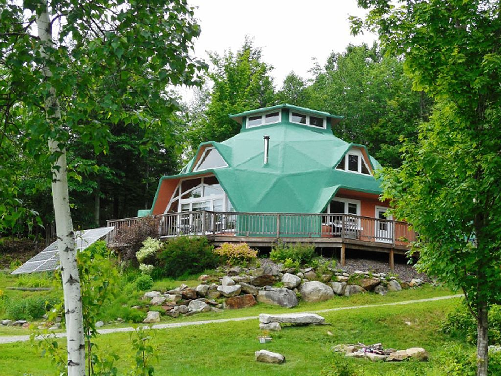 Amazing Solar Powered Dome Homeaway Northeast Kingdom Vermont Woods Dome House Vermont