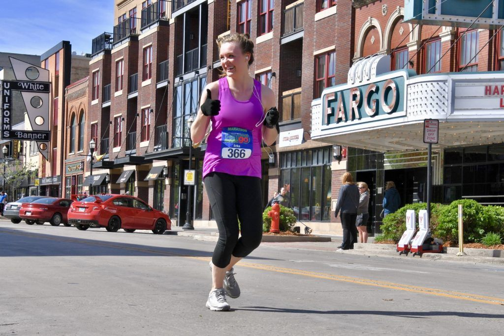 New runner logs 27 races in her 27th year Sanford health
