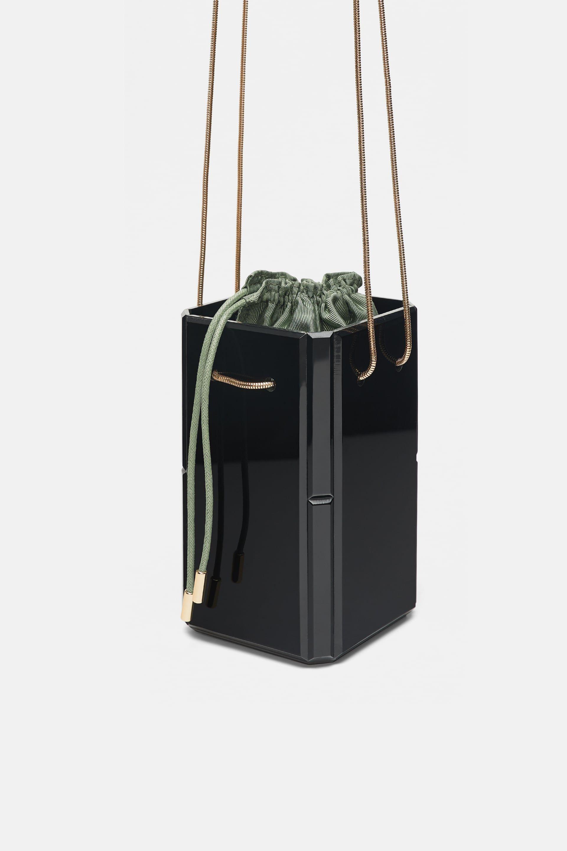 Image 3 of RIGID BOX BAG from Zara  c50278177bacf