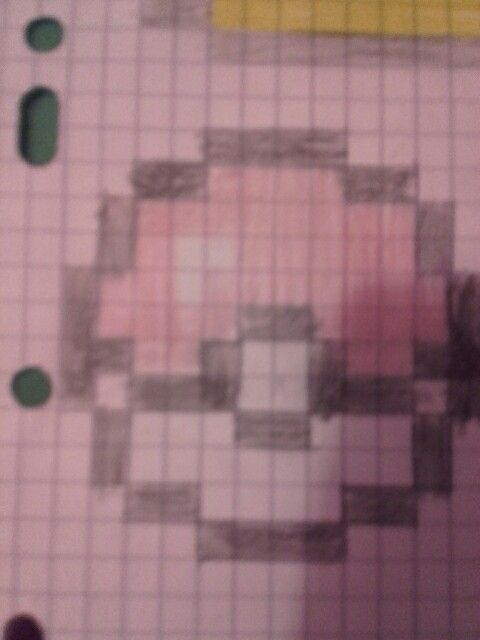 Pixel art pokeball