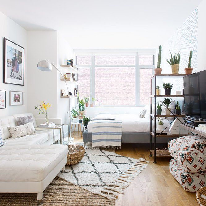 New York Small Apartments: Now THIS Is How You Design A Studio Apartment! Learn How