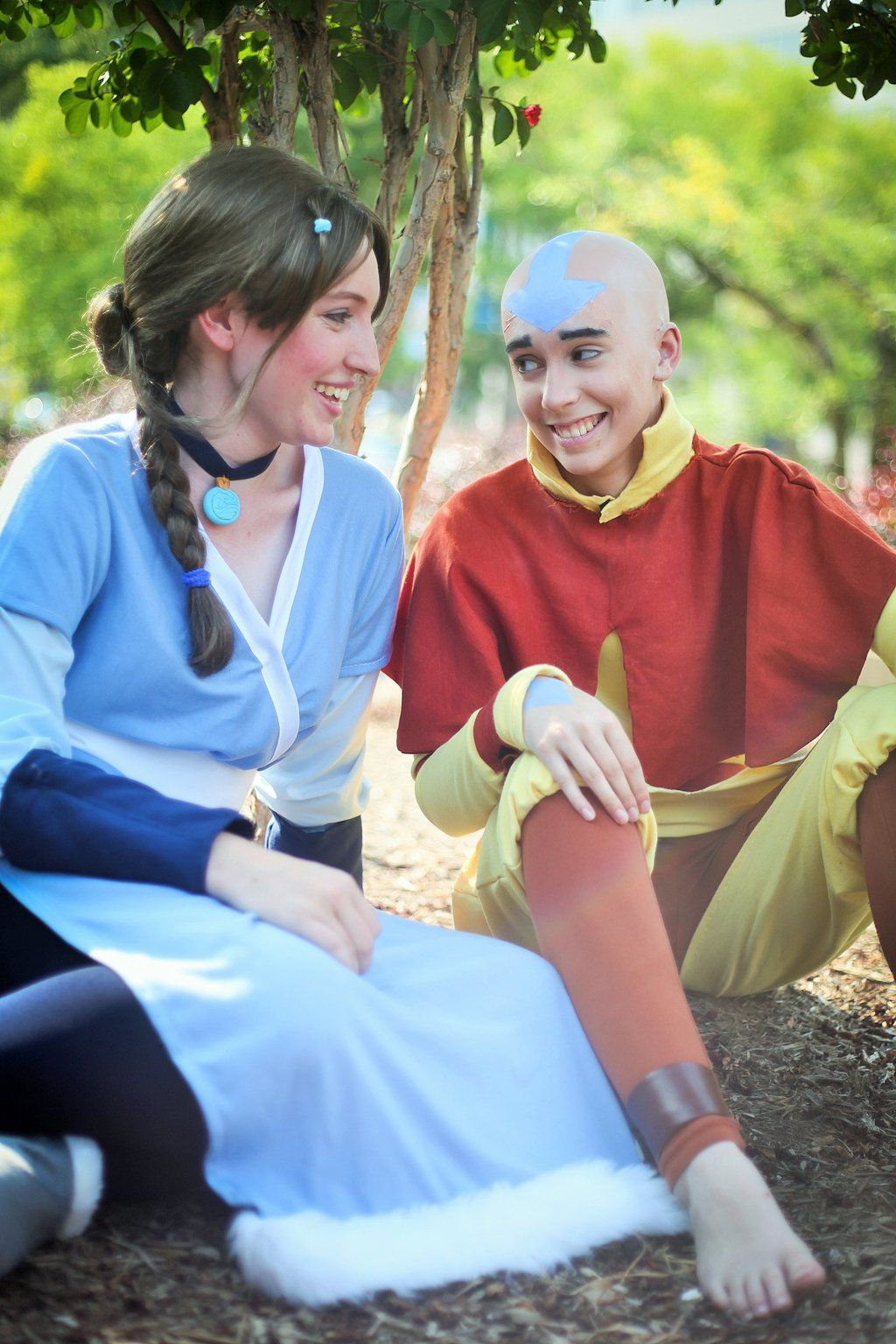 ATLA: Aang and Katara by ElliotCosplay.deviantart.com ...
