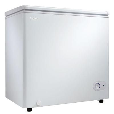 Danby 5 5 Cu Ft Manual Defrost Chest Freezer In White