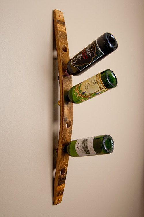 Banded 6 Bottle Wall Wine Rack Vino The Good Life Pinterest