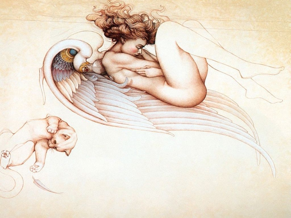 Erotic fantasy art gallery, francine dee blow job