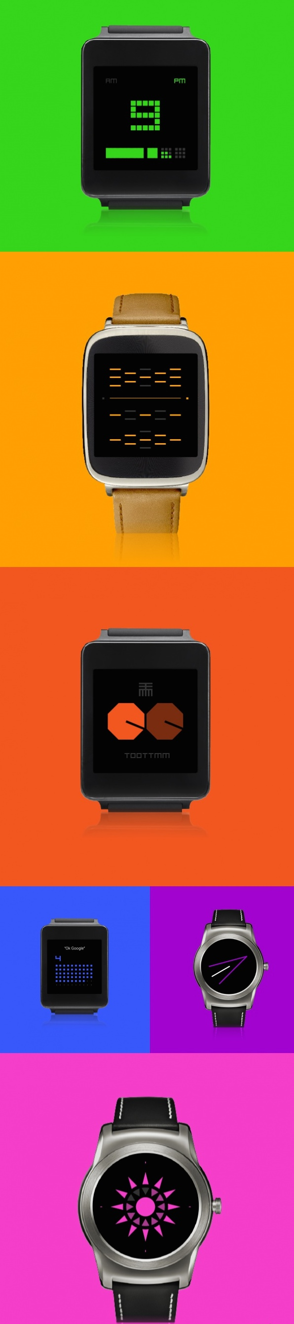 Designer android wear watchface - Recently Released For Android Wear Smartwatches Ttmm To Wear Is A Designer