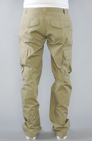 The Core Collection True Straight Cargo Pants in British Khaki ...