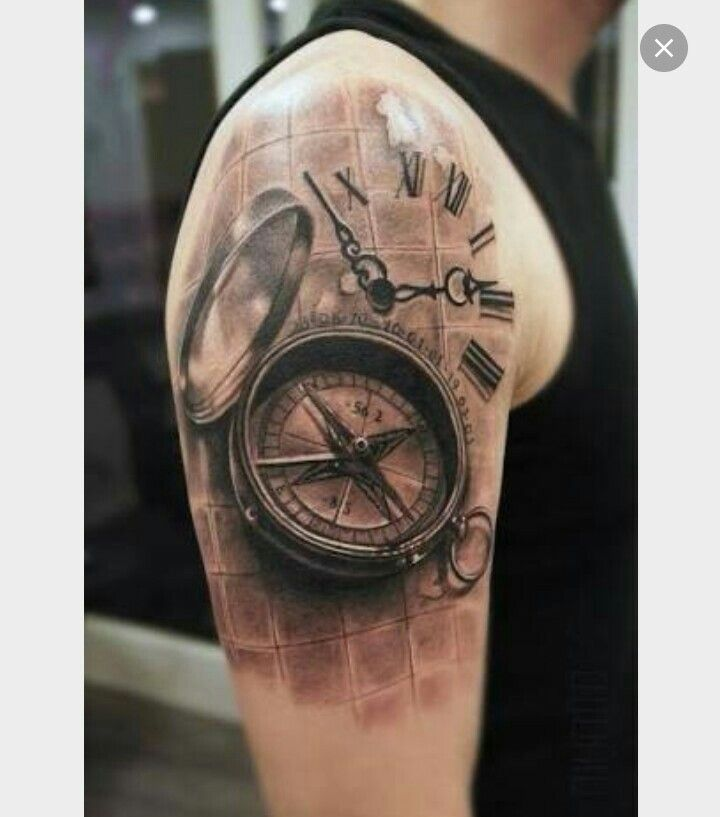 Bussola tattoo tatuajes de relojes tatuajes brujula e for Tatoo bussola