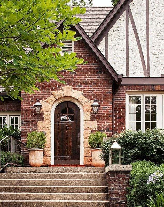 Get the Look Tudor Style | Traditional Home | Casas | Pinterest | Tudor style Traditional and Doors & Get the Look: Tudor Style | Traditional Home | Casas | Pinterest ... pezcame.com