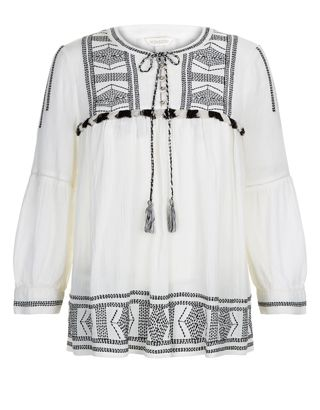 Talia Embroidered Top | Ivory | Monsoon | All laced Up! With a ...